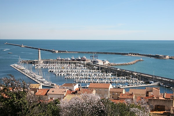 Port de Sète dans l'Hérault